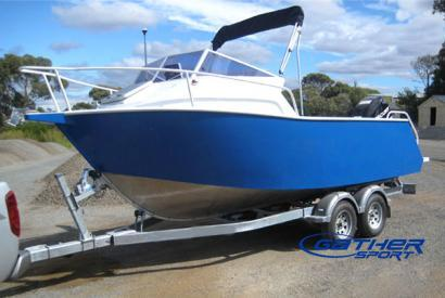 GATHER 5.8M ALUMINUM FISHING BOAT GSA190