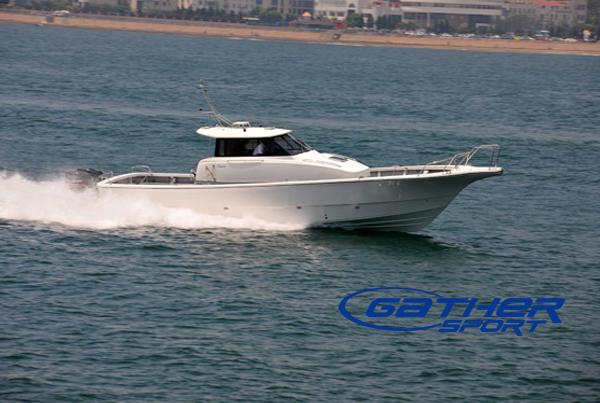 41ft frp sport fishing boat gs410b manufacturers for Sport fishing boat manufacturers