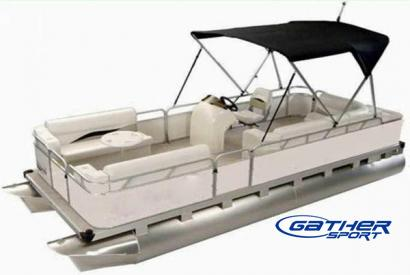 GATHER 5.9M ALUMINUM PONTOON BOAT GS194