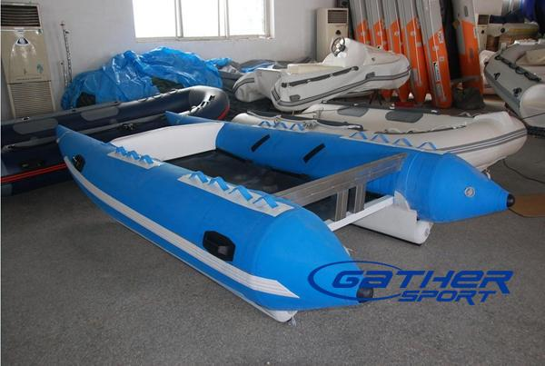 3.8M INFLATABLE HIGH SPEED CATAMARAN BOAT-Manufacturers, Suppliers & Exporters for the ...