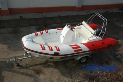 4.8M RIGID INFLATABLE BOAT RIB480B
