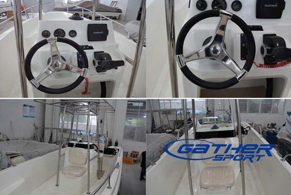 6.7M FRP CENTER CONSOLE FISHING BOAT-Manufacturers, Suppliers & Exporters for the fiberglass ...