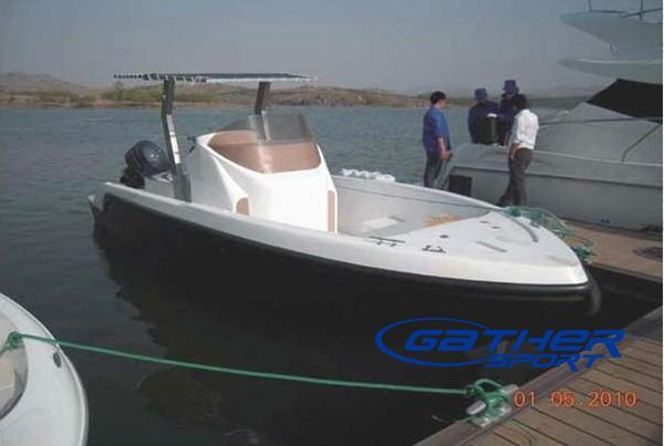 Fiberglass fishing boat gs27 manufacturers for Sport fishing boat manufacturers
