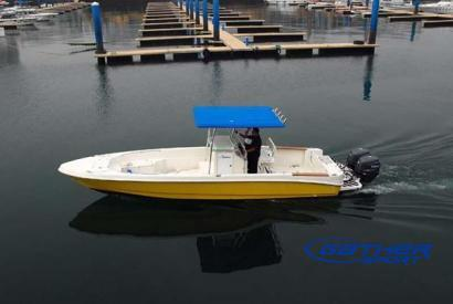 9.5M FIBERGLASS FISHING BOAT GS312CC