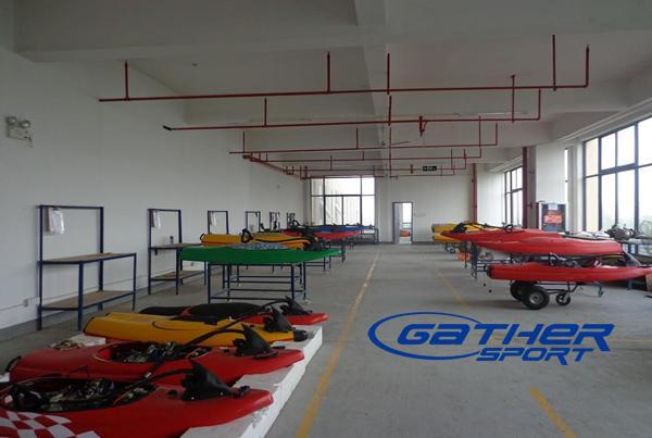 110CC POWER JETBOARD IN THE FACTORY