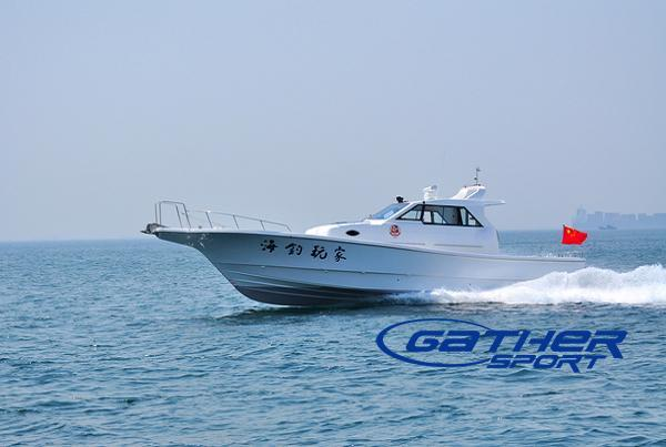50ft fiberglass fishing boat manufacturers suppliers for Sport fishing boat manufacturers