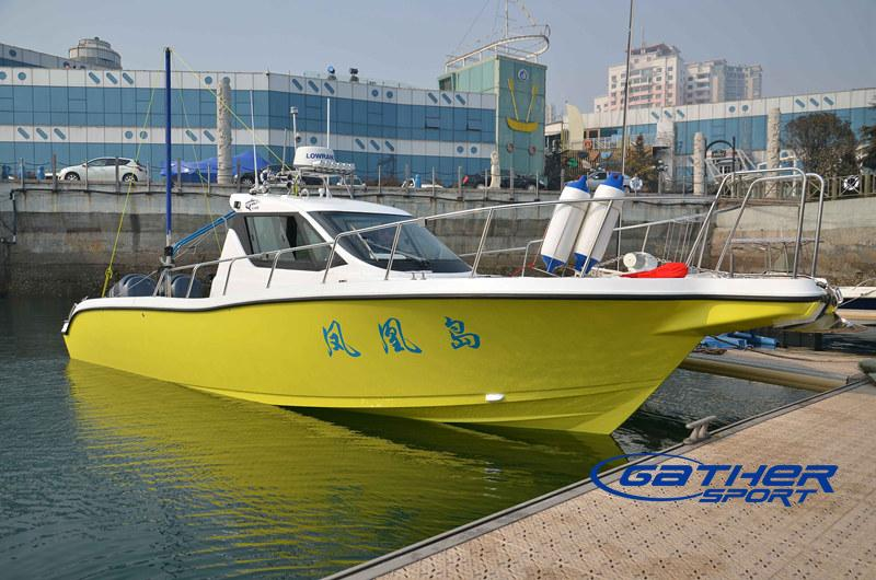 Gather 32ft walkaround fishing boat manufacturers for Sport fishing boat manufacturers