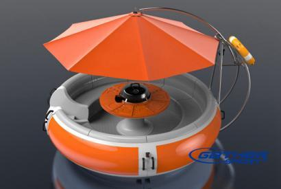 GATHER FIBERGLASS BBQ DONUT BOAT