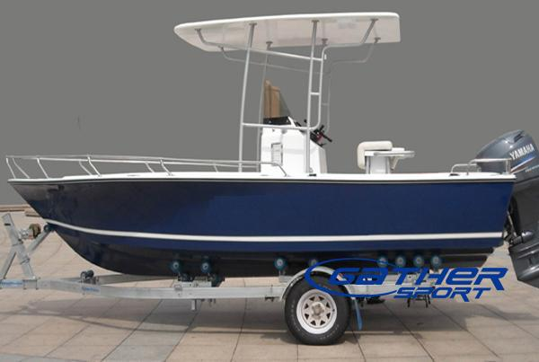 Aluminum Boat Manufacturers >> 5.95M FRP CENTER CONSOLE FISHING BOAT GS195-Manufacturers, Suppliers & Exporters for the ...